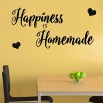 Happiness is Homemade ~ Wall sticker / decals